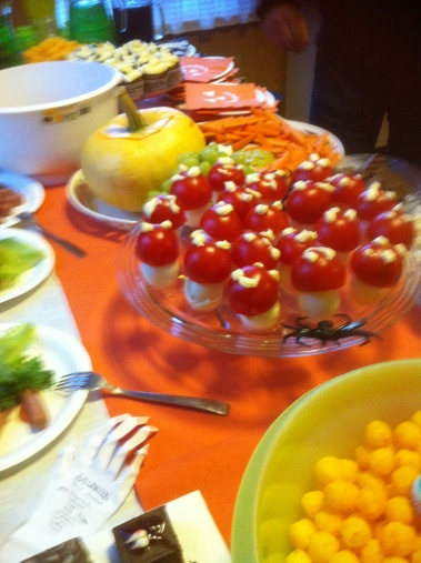 Halloween ruokaa